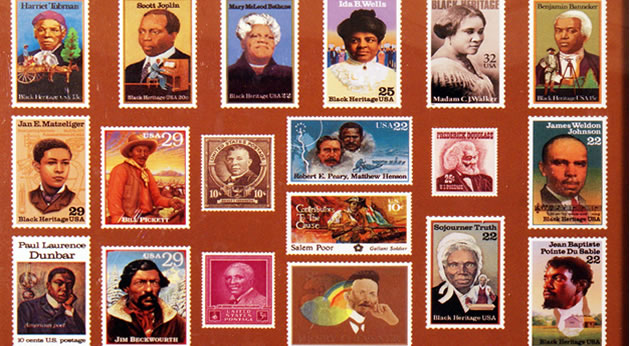African American Postage Stamps